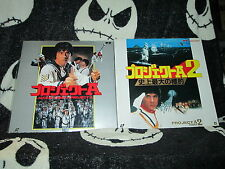 Project A & Project A 2 Laserdisc LD Jackie Chan Japanese Free Ship $30 Orders