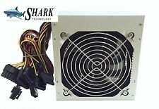 600W Quiet 120mm Cooler Fan ATX 12V 4/8-pin Intel/AMD PC Power Supply Unit 20/24