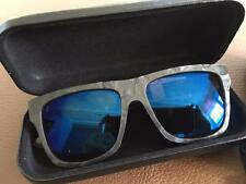 Alexander McQueen Wayfarer sunglasses 0023 textured posts Grey NEW