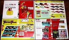 1966 IDEAL MOTORIFIC Battery Op Car Cars DEALER CATALOG Full Color ro Pages !