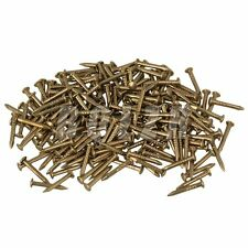 100pcs Furniture Archaize Copper Miniature Nail with Round Head Brass 10mm