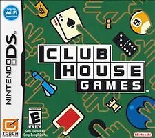 Club House Games (Nintendo DS, 2006)    Rated Everyone, 42 classic games