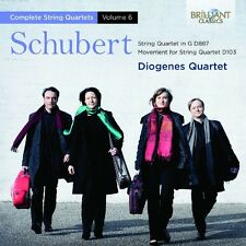 DIOGENES QUARTET - STRING QUARTETS VOL.6   CD NEU SCHUBERT,FRANZ