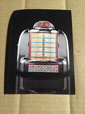 JUKEBOX - SEEBURG 100A (1949) - POSTKARTE