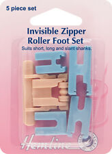 Zipper Foot Set: Invisible - H163 - HEMLINE