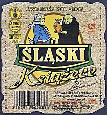 Poland Brewery Lwówek Śląski Książęce Beer Label Bieretikett Cerveza ls130.3