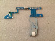 Power Media Button LED Board UBF02001PA UE2015P02 Toshiba Satellite 2800 Series