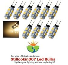 10 - G4 Low Voltage Landscape Light LED conversion 9 Warm White led's per bulb