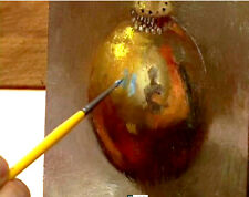 How to Oil Paint Metal Surfaces Techniques DVD Video Lessons Hall Groat II