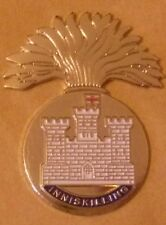 Royal Inniskilling Fusiliers Lapel Badge The Skins British Army
