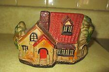 Vintage Smoking Chimney Cottage House Incense Burner