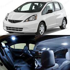 8 x White LED Lights Interior Package For Honda FIT 2007 - 2013 JAZZ Sedan