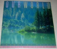 NEW USPS Publication Our World: Images of Nature Vol 2 stamps from 6 countries