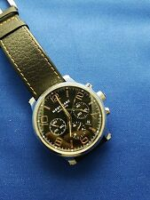 Mens Stainless Steel Montblanc Time Walker Chronograph watch