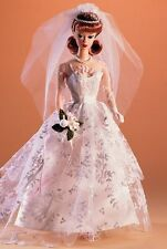 BARBIE Wedding Day 1961 FASHION & DOLL REPRODUCTION PONYTAIL Red Mattel  nrfb