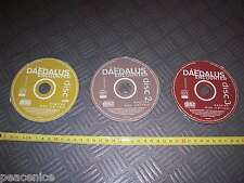 DAEDALUS ENCOUNTER 3 Discs Vintage Apple Macintosh Mac SOFTWARE Game - CDs