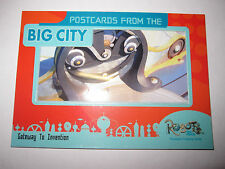 ROBOTS THE MOVIE BIG CITY POSTCARDS FRAME RARE CARD CHASE PC-1 MINT