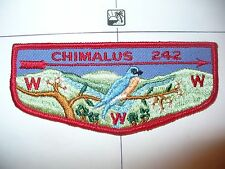 OA Chimalus Lodge 242,F-3a,1960s Bluebird Flap,57,67,275,540,Washington Green,PA