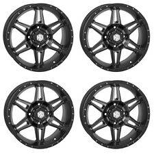 4 ATV/UTV Wheels Set 14in STI HD7 Smoke 4/110 5+2 VIK