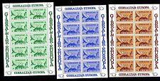 Gibraltar 392/4 ** Kleinbogen Post- und Fernmeldewesen