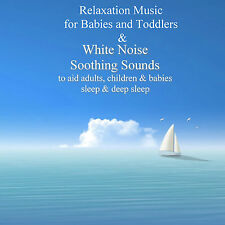 Relaxation Music & White Noise Soothing Sounds on 3 CDs Help With Sleep Peaceful