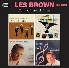 Les Brown Four Classic Albums on 2 CD's ( Avid Jazz 2016 )