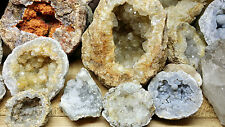 2 LBS BREAK YOUR OWN KEOKUK GEODES UNOPENED RAW GEODE BULK QUARTZ CRYSTAL ROUGH