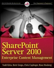 SharePoint Server 2010 Enterprise Content Management-ExLibrary