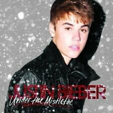 JUSTIN BIEBER - UNDER THE MISTLETOE CD+DVD DELUXE NEU