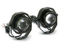 Bright 20w Alum Projector LED Fog / Spot Lights Motorcycle Motorbike Car Van 4x4