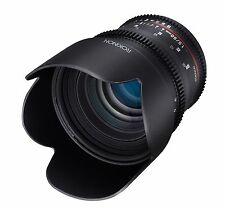 Rokinon Cine DS 50mm T1.5 Cine Lens for Sony E Mount - Model DS50M-NEX