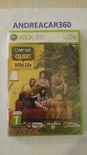 XBOX 360 NAT GEO QUIZ WILD LIFE NEW SEALED PAL ENGLISH