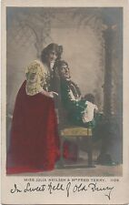 POSTCARD  ACTRESSES  Julia Neison &  fred Terry