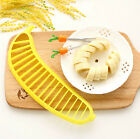 1Pcs Banana Slicer Cutter Chopper Fruit Salad Vegetable Peeler Kitchen Tool CAP