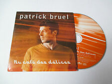 Patrick Bruel - Au café des délices  - cd single 2000