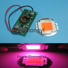 20w Constant Current LED Driver 12v + 20w full spectrum led grow chip 380-840nm