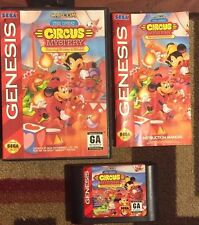 GREAT CIRCUS MYSTERY STARRING MICKEY & MINNIE COMPLETE SEGA GENESIS VG SHAPE