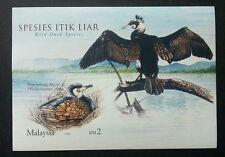 Wild Duck Species Malaysia 2006 Birds Animal Pond Fauna (Imperf ms) MNH