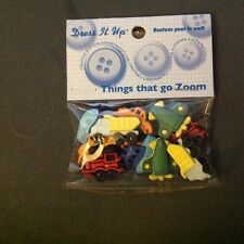Jesse James Dress It Up! THINGS THAT GO ZOOM Cars/Trucks 9 pieces!