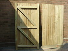 WOODEN GARDEN GATE HEAVY DUYT 6X3 ALL TREATED