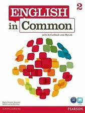 English in Common 2 with ActiveBook and MyEnglishLab-ExLibrary