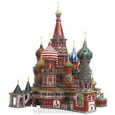 Educational 3D Model Puzzle Saint Basil's Cathedral, 6+, Boys & Girls