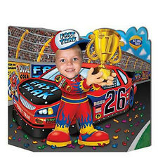 "Race Car Driver Photo Prop is perfect for both kids & Adults 37"" wide x 25""high"