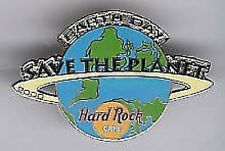 "Hard Rock Cafe ONLINE 2000 EARTH DAY Globe ""STP"" PIN HRO SAVE THE PLANET"