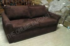 Pottery Barn DELUXE Couch Sofa Sectional Sleeper Sofa bed mahagony everydaysuede