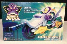 NEW Vintage 1996 Mattel MIGHTY DUCKS DUCKCYCLE Anaheim Blastin Battle Bike 16075