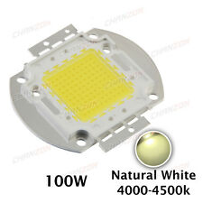 High Power 100W Natural white SMD LED Chip Bead Lamps light COB blub 4000K 4500K