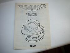 ELECTRONIC TOMYTRONIC 3-D,SKY ATTACK INSTRUCTION