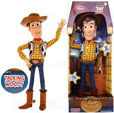 DISNEY STORE PULL STRING TOY STORY WOODY Talking Doll figure