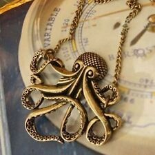 Oktopus Halskette Vintage Arielle Necklace Octopus Kraken Emo Steampunk Nautical